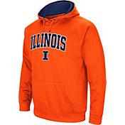 Colosseum Men's Illinois Fighting Illini Orange Performance Hoodie