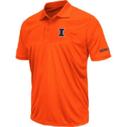 Colosseum Men's Illinois Fighting Illini Orange Stance Polo