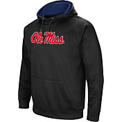 Colosseum Men's Ole Miss Rebels Black Performance Hoodie
