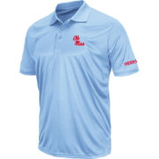 Colosseum Men's Ole Miss Rebels Blue Stance Polo