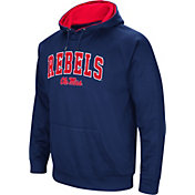 Colosseum Men's Ole Miss Rebels Blue Performance Hoodie