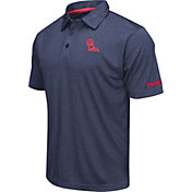 Colosseum Men's Ole Miss Rebels Blue Axis Polo