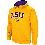 Colosseum Men's LSU Tigers Gold Performance Hoodie