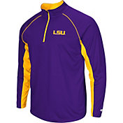 Colosseum Men's LSU Tigers Purple Airstream Quarter-Zip Windshirt