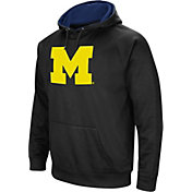 Colosseum Men's Michigan Wolverines Black Performance Hoodie