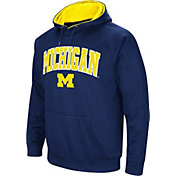 Colosseum Men's Michigan Wolverines Blue Fleece Hoodie