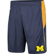 Colosseum Men's Michigan Wolverines Blue Triple A Shorts