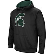 Colosseum Men's Michigan State Spartans Black Performance Hoodie