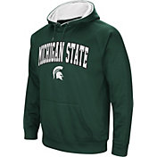 Colosseum Men's Michigan State Spartans Green Fleece Hoodie