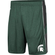 Colosseum Men's Michigan State Spartans Green Triple A Shorts