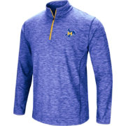 Colosseum Athletics Men's McNeese State Cowboys Royal Blue Action Pass Quarter-Zip Shirt