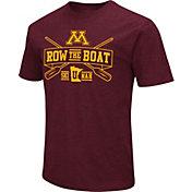 Colosseum Men's Minnesota Golden Gophers Maroon 'Row the Boat' Dual Blend T-Shirt