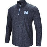 Colosseum Athletics Men's Maine Black Bears Navy Action Pass Quarter-Zip Shirt