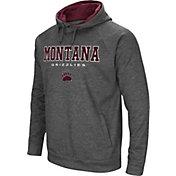 Colosseum Men's Montana Grizzlies Grey Fleece Hoodie