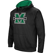 Colosseum Men's Marshall Thundering Herd Black Performance Hoodie