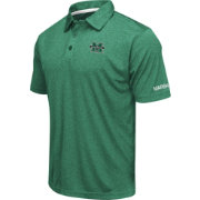 Colosseum Men's Marshall Thundering Herd Green Axis Polo