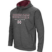 Colosseum Athletics Men's Mississippi State Bulldogs Grey Fleece Hoodie