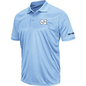 Colosseum Men's North Carolina Tar Heels Carolina Blue Stance Polo