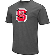 Colosseum Men's NC State Wolfpack Grey Dual Blend T-Shirt