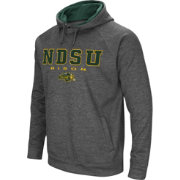 Colosseum Men's North Dakota State Bison Grey Fleece Hoodie