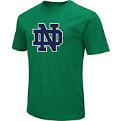Colosseum Men's Notre Dame Fighting Irish Green Dual Blend T-Shirt
