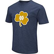 Colosseum Men's Notre Dame Fighting Irish Navy Dual Blend T-Shirt