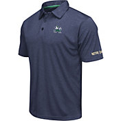 Colosseum Men's Notre Dame Fighting Irish Navy Axis Polo