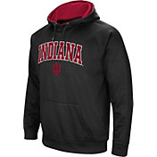 Colosseum Men's Indiana Hoosiers Black Performance Hoodie