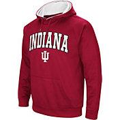 Colosseum Men's Indiana Hoosiers Crimson Fleece Hoodie