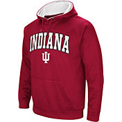 Colosseum Men's Indiana Hoosiers Crimson Fleece Hoodie