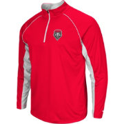 Colosseum Men's New Mexico Lobos Cherry Airstream Quarter-Zip