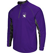 Colosseum Men's Northwestern Wildcats Purple Airstream Quarter-Zip
