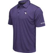Colosseum Men's Northwestern Wildcats Purple Axis Polo