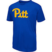 Colosseum Men's Pittsburgh Panthers Blue Dual-Blend T-Shirt