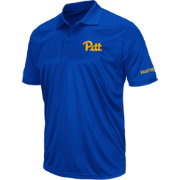 Colosseum Men's Pitt Panthers Blue Stance Polo