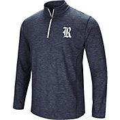 Colosseum Athletics Men's Rice Owls Navy Action Pass Quarter-Zip Shirt