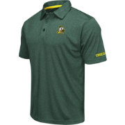 Colosseum Men's Oregon Ducks Green Axis Polo