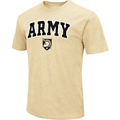 Colosseum Men's Army West Point Black Knights USMA Gold Dual Blend T-Shirt