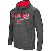 Colosseum Men's Rutgers Scarlet Knights Grey Fleece Hoodie