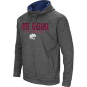 Colosseum Men's South Alabama Jaguars Grey Fleece Hoodie
