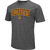 Colosseum Men's Arizona State Sun Devils Maroon Dual Blend T-Shirt