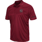Colosseum Men's South Carolina Gamecocks Stance Black Polo