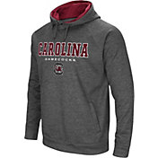 Colosseum Athletics Men's South Carolina Gamecocks Grey Fleece Hoodie