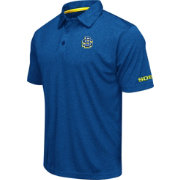 Colosseum Men's South Dakota State Jackrabbits Blue Axis Polo