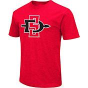 Colosseum Men's San Diego State Aztecs Scarlet Dual Blend T-Shirt