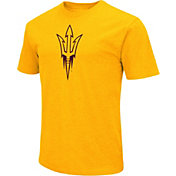 Colosseum Men's Arizona State Sun Devils Gold Dual Blend T-Shirt