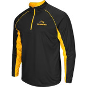 Colosseum Men's Southern Miss Golden Eagles Black Airstream Quarter-Zip