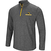 Colosseum Men's Southern Miss Golden Eagles Grey Action Pass Quarter-Zip Shirt