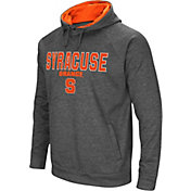 Colosseum Men's Syracuse Orange Grey Fleece Hoodie