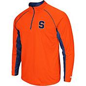 Colosseum Men's Syracuse Orange Orange Airstream Quarter-Zip Windshirt